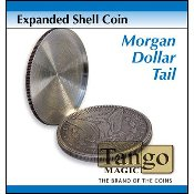 Expanded Shell Coin - Morgan Dollar (Tail)