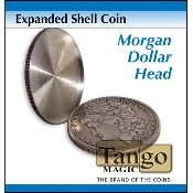 Expanded Shell Coin - Morgan Dollar (Head) by Tango
