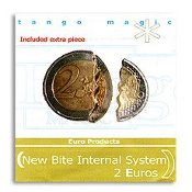Biting coin 2 Euro internal w/extra piece from Tango