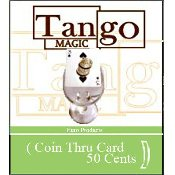 Coin Thru Card 50 cent Euro Tango