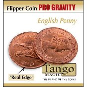 Flipper coin Pro Gravity English Penny by Tango
