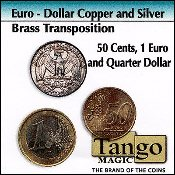 Euro-Dollar Silver/Copper/Brass Transposition