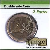 Double Sided Coin 2 Euro by Tango
