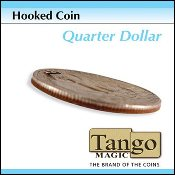 Hooked Coin Quarter by Tango