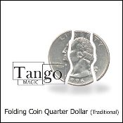 Folding Coin Quarter (Traditional) by Tango