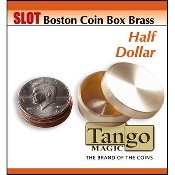 Slot Boston Box Brass half dollar by Tango