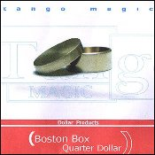 Boston Box (Brass) - US Quarter by Tango