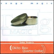 Okito Box (Brass) - US Quarter