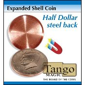 Expanded Shell Coin - Half Dollar (Steel Back)