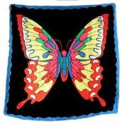 Six Foot Butterfly Silks