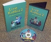 LIVE KIDBIZ DVD #2 with BOOK - Ginn
