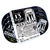 Thirteen Steps to Mentalism-6 DVD's