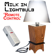 Milk in Lightbulb - Remote