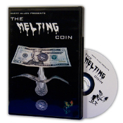 Melting Coin DVD & Gimmick Half Dollar