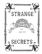 Instant Download - Strange Secrets Addendum