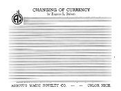 Instant Instruction Download - Changing of Currency
