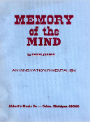 Instant Manuscript Download - Memory Of The Mind by Eddie Joseph