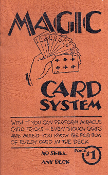 Vintage Collectible - Magic Card System