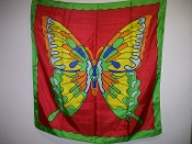 Gently Used Rice Butterfly Silk Blendo