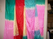 Gently Used Production Silk Streamer & Pig