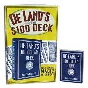 DeLands Hundred Dollar Deck with Book and Bonus Effect