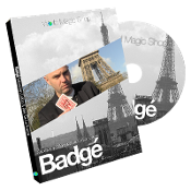 Badge (DVD and Gimmick) by Alexis De La Fuente and Sebastien Cal