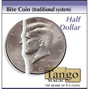 Bite Coin - US Half Dollar (Traditional With Extra Piece)