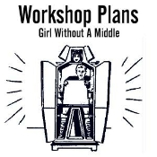 Girl Without A Middle Plans - Instant Download