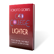 Card College Lighter by Roberto Giobbi