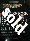 Autographed Blackstone Book of Magic & Illusion