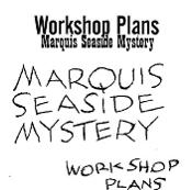 Marquis Seaside Mystery Plans Instant Download
