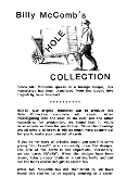 Instant Manuscript Download - Hole Collection by Billy McComb