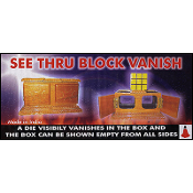 See Thru Block Vanish by Uday