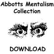 ABBOTTS DOWNLOAD SPECIAL - Abbotts Mentalism Collection