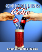 Self Filling Coke Bottle