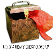 Light and Heavy Chest - Closeup