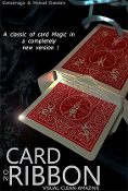 Card on Ribbon (RED) by Mickael Chatelain