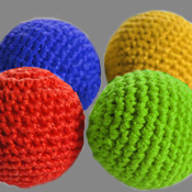 Crochet 5 Ball Combo Set
