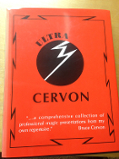 Gently Used Ultra Cervon Book