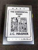 GENTLY USED COMMERCIAL MAGIC OF JC WAGNER BOOK
