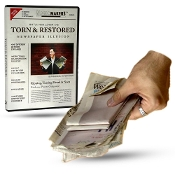 Torn & Restored Newspaper - A Collection of Newspaper Tricks