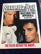 GENTLY USED SIEGFRIED AND ROY MASTERING THE IMPOSSIBLE BOOK