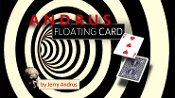 Andrus Floating Card Red (Gimmicks and Online Instructions)
