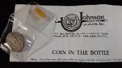 Gently Used Coin In The Bottle (Johnson Products)