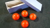 Gently Used Multiplying Billiard Balls, Red