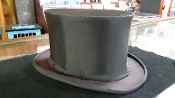 Gently Used Collapsible Silk Top Hat